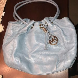 Genuine Leather Michael Kors ring tote